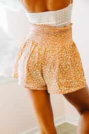 Shorts - The Eloise Shorts In Peach