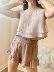 Shorts - The Mimi Shorts In Mauve