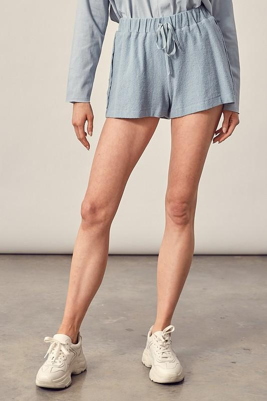 Shorts - The Sally Shorts In Washed Denim