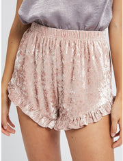 Shorts - The Velvet Elvis Shorts In Blush