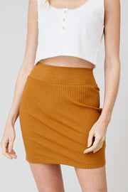 Skirts - The Alexa Skirt In Camel