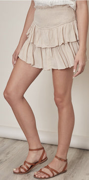Skirts - The Ginger Ruffle Mini Skort