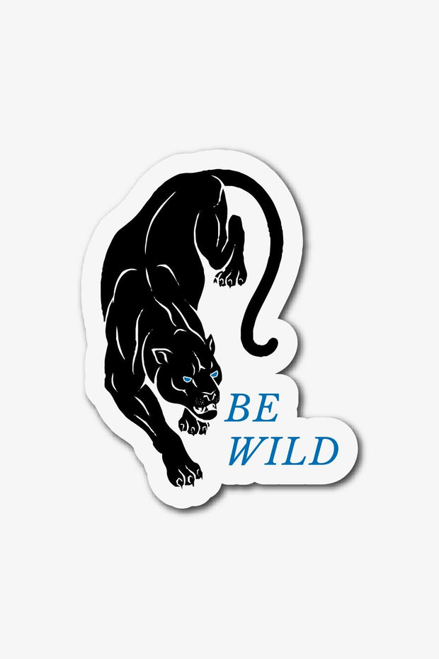 Stickers - Be Wild Sticker