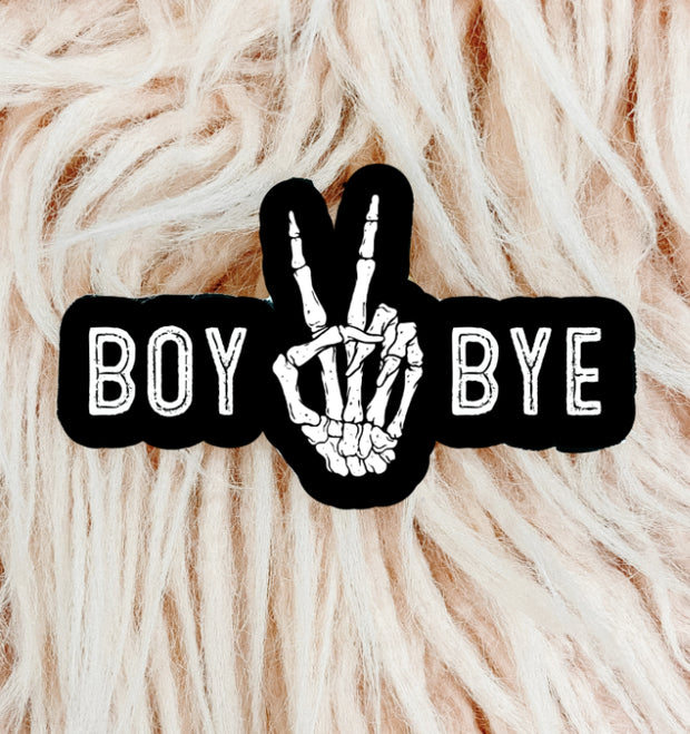 Stickers - Boy Bye Sticker