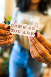 Stickers - Come As You Are Sticker