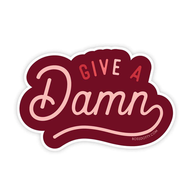 Stickers - Give A Damn Sticker
