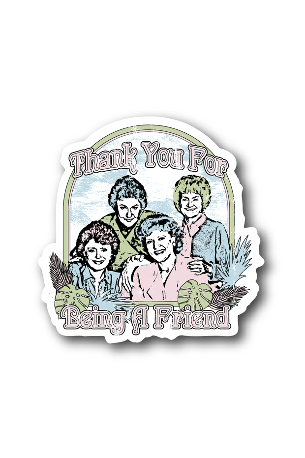 Stickers - Golden Girls Concert Sticker