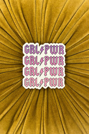 Stickers - GRL PWR Rocker Sticker