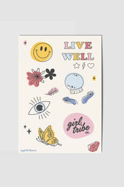Stickers - Live Well Sticker Pack