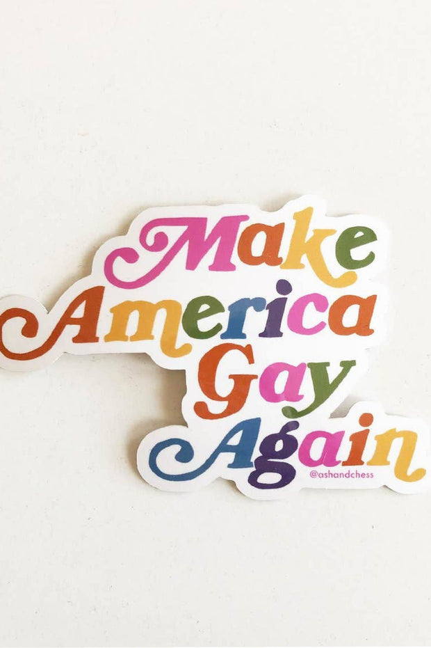 Stickers - Make America Gay Again Sticker