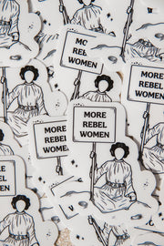 Stickers - More Rebel Women Sticker
