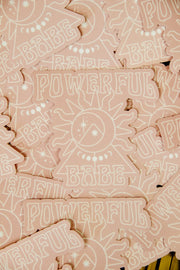 Stickers - Powerful Babe Sticker