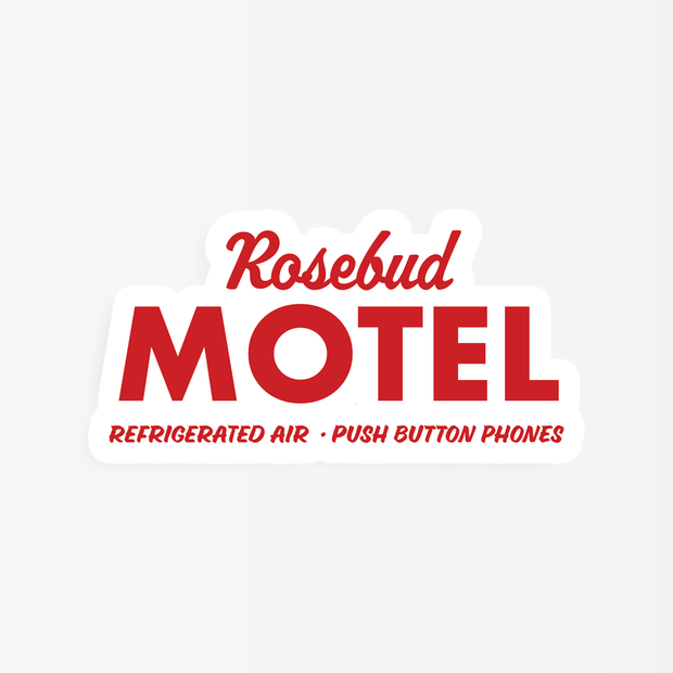 Stickers - Rosebud Motel Sticker