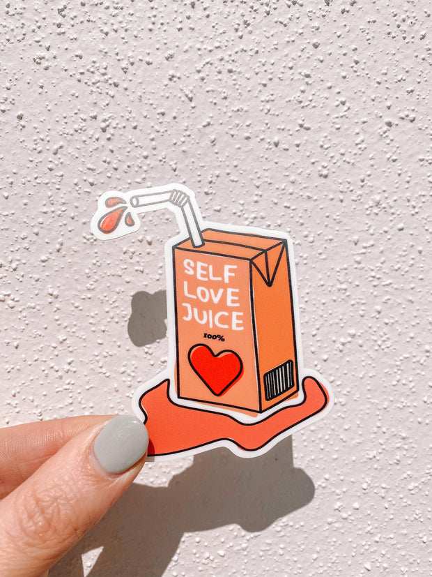 Stickers - Self Love Juice Sticker