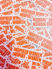 Stickers - The Inspired Women Sticker