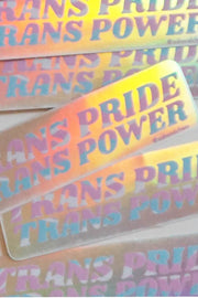 Stickers - Trans Pride Trans Power Sticker