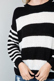 Sweater - The Allie Sweater In Midnight