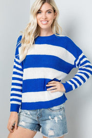 Sweater - The Allie Sweater In Royal Blue