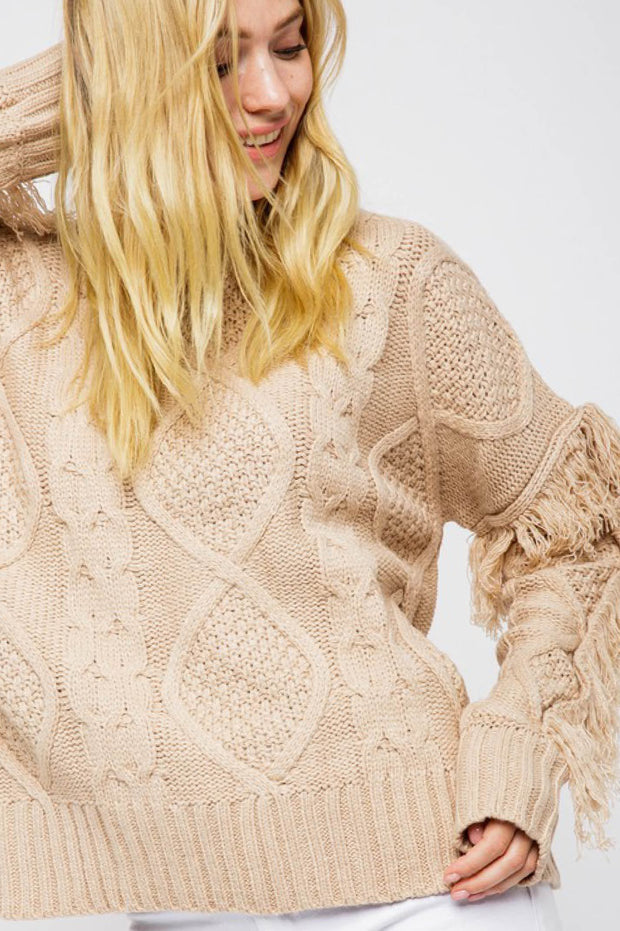 Sweater - The Beatrice Sweater In Taupe