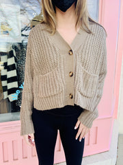 Sweater - The Madi Chunky Knit Cardigan