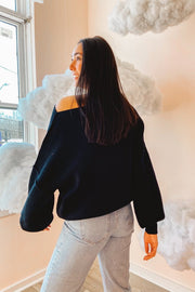 Sweater - The Maisie Sweater In Midnight