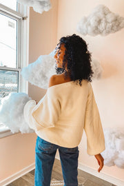 Sweater - The Maisie Sweater In Snow