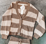 Sweater - The Mary Cardigan In Mocha