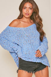 Sweater - The Tiffany Sweater In Blue