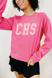 Sweatshirt - CHS Sweatshirt In Hot Pink
