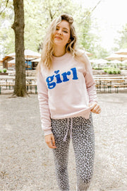 "Sweatshirt - Girl Tribe™ ""Girl"" Patch Sweatshirt"