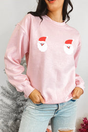 Sweatshirt - Jingle Jugs Sweatshirt In Pink