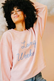 Sweatshirt - Long Weekend Corded Sweatshirt