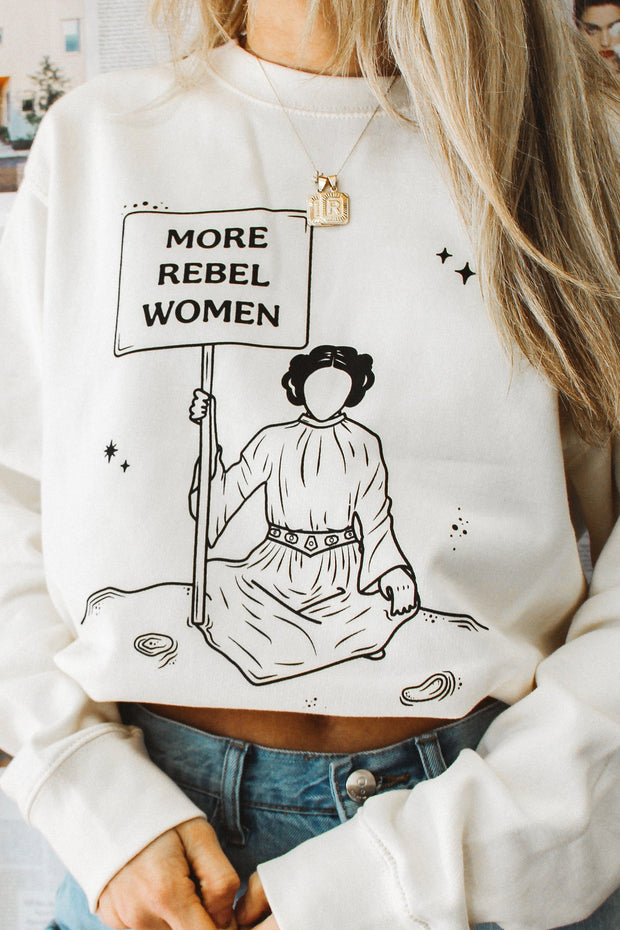 Sweatshirt - More Rebel Women Sweatshirt
