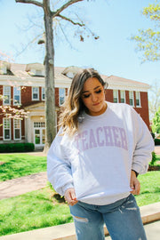 Sweatshirt - Teacher Crewneck Sweatshirt