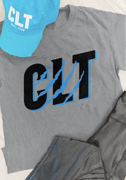 T-Shirt - CLT Cat Scratch Girlfriend Tee