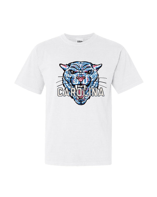 T-Shirt - Vintage Panther Face Throwback Tee