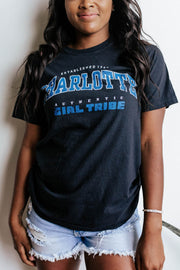 Vintage - Authentic Girl Tribe Game Day Charlotte Tee