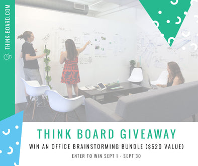 Enter to Win The Think Board Office Brainstorming Bundle