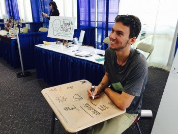 "Saratoga Today: Saratoga Grad Finds Success with ""Think Board"""