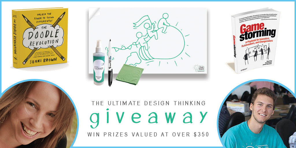The Ultimate Design Thinking Giveaway | Sunni Brown | Think Board