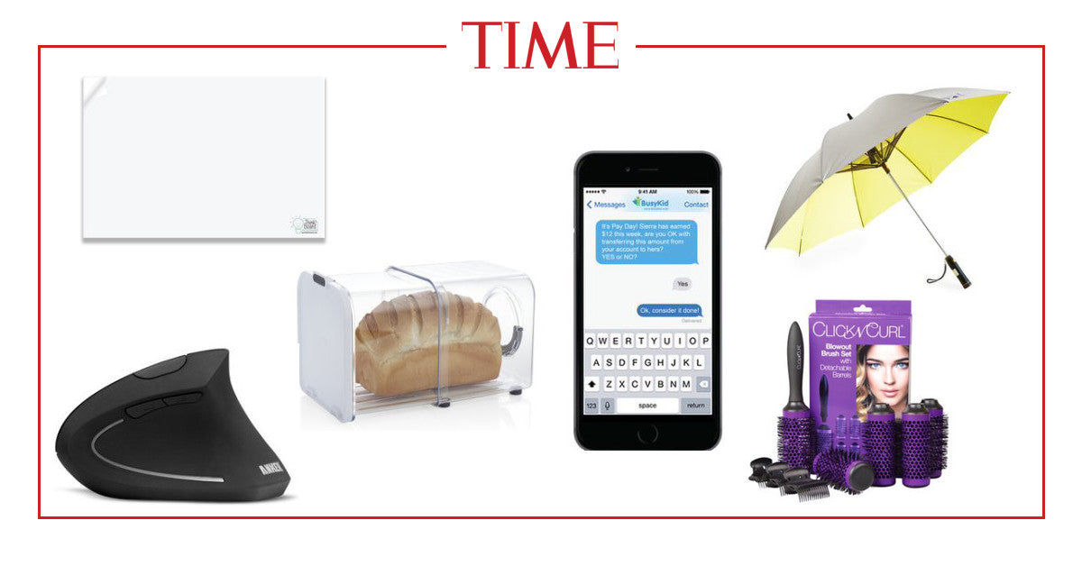 Think BOard Featured In Time Magazine's 6 Gadgets to Help Simplify Your Life
