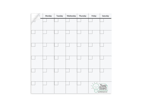 "Think Board 14""x14"" Think Board Calendar Add On Other"