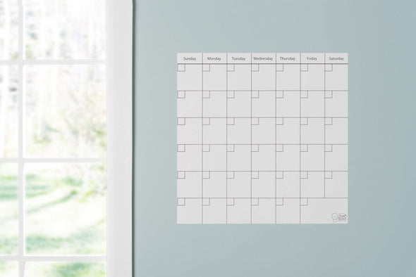 "Think Board 14"" x14"" / White Premium Think Board Calendar - White Premium Other"