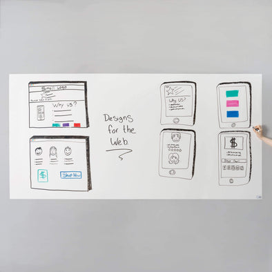 Think Board 2020 Premium Think Board XL Dry Erase Boards