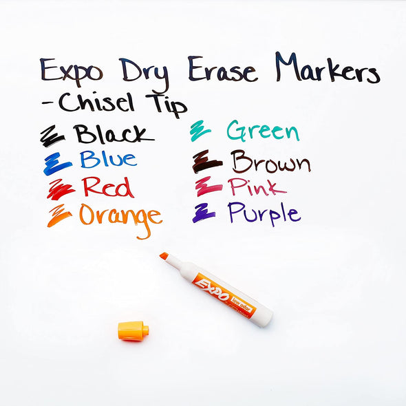 Think Board Expo Colored Dry Erase Markers Accessories