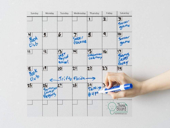 Think Board Think Board Calendar - White Premium Other