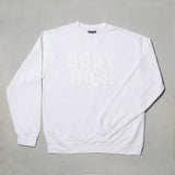 WHITE ON WHITE CREWNECK