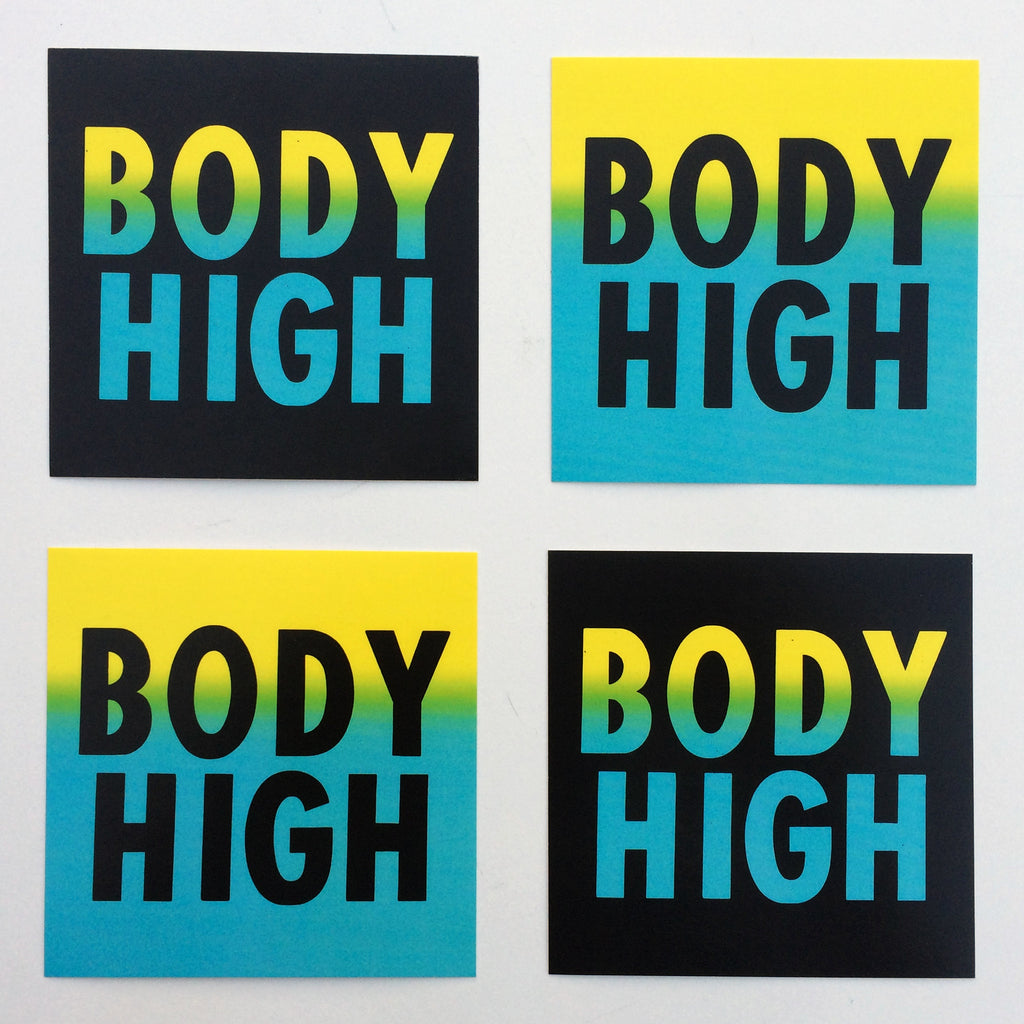 BODY HIGH STICKER PACK