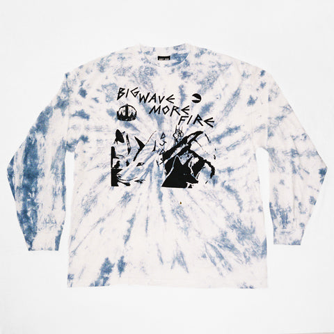 BWMF BOOTLEG TIE DYE LONG SLEEVE SHIRT