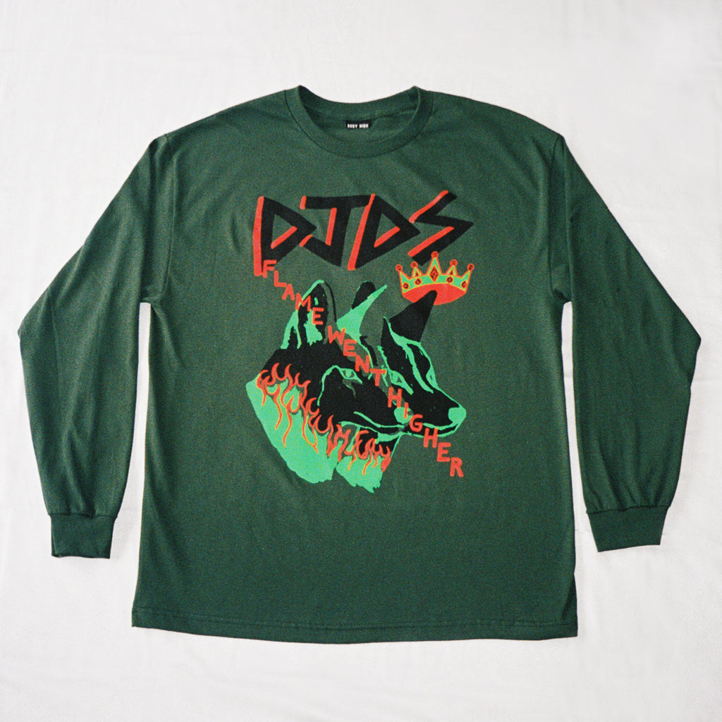 DJDS x COME TEES LONG SLEEVE (FOREST)